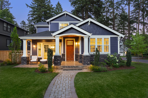 Beautiful home exterior shot